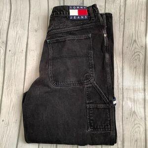 Tommy Jeans VINTAGE 36/32 dark wash black jeans